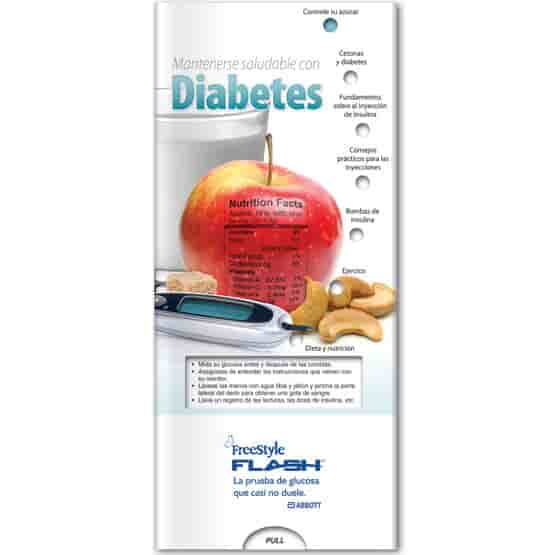Pocket Slider- Staying Healthy With Diabetes (Spanish)