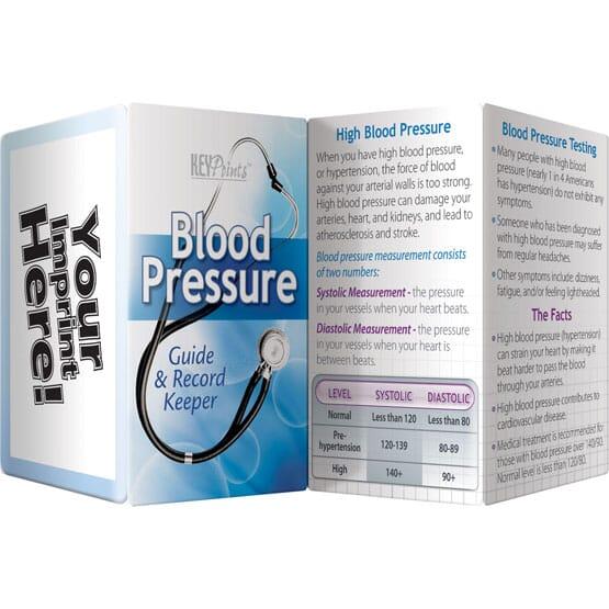 Blood Pressure Key Points Pamphlet - English