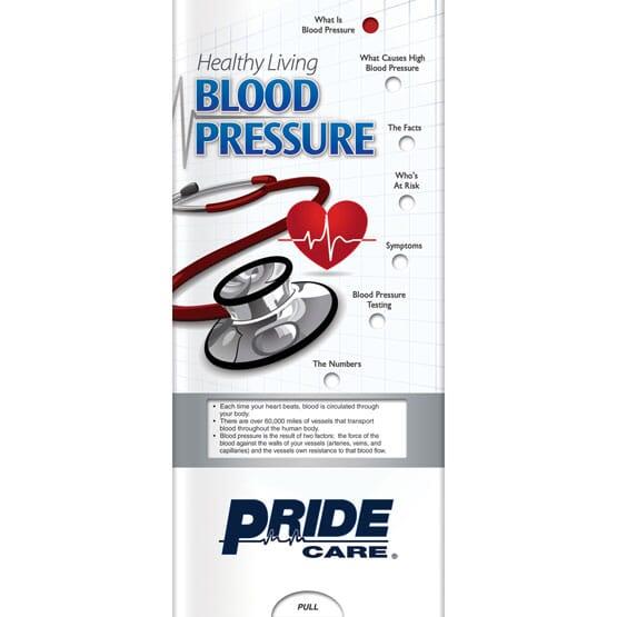 Blood Pressure Slider Brochure - English