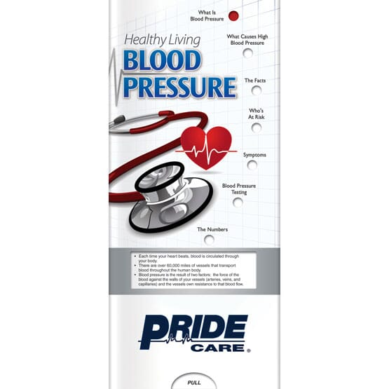 Blood Pressure Slider Brochure - English