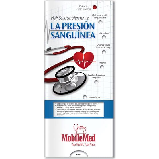 Blood Pressure Slider Brochure - Spanish