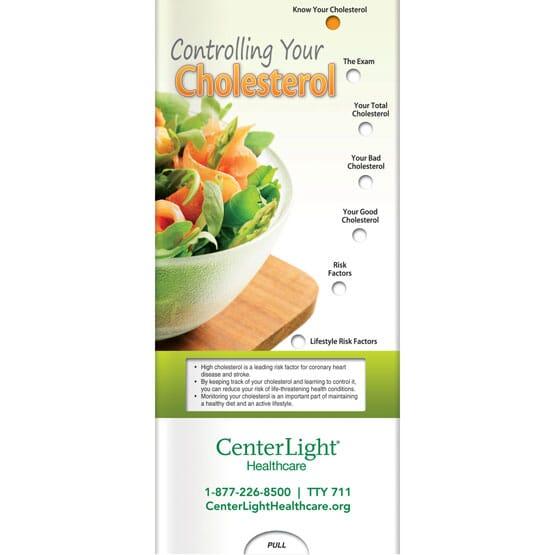 Cholesterol Control Sliding Brochure