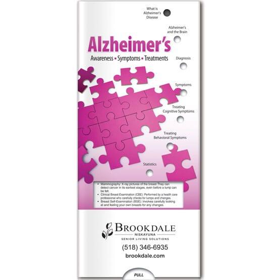 Alzheimer's Sliding Brochure
