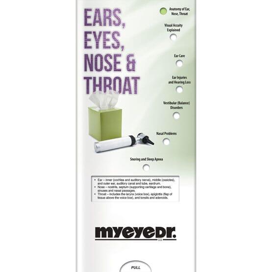 Ear, Nose, & Throat Slider Brochure