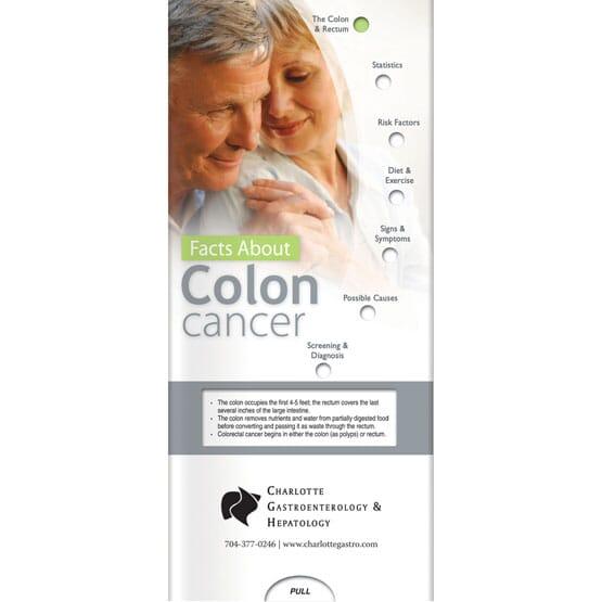 Colon Cancer Awareness Slider Brochure