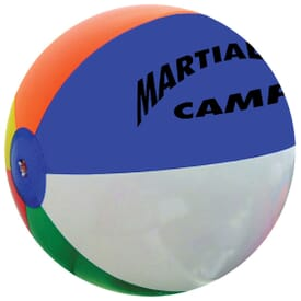 "16"" Multi Colored Beach Balls"