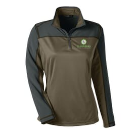 North End® Ladies' Excursion Circuit Performance Half-Zip