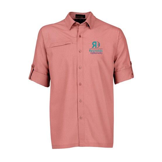 North End® Men's Excursion F.B.C. Textured Performance Shirt