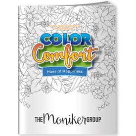 Hues Of Happiness Adult Coloring Book- Flowers