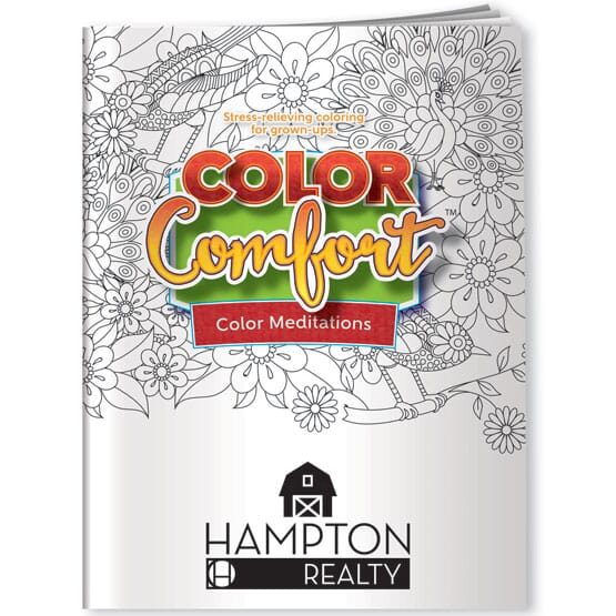 Color Meditations Adult Coloring Book - Birds