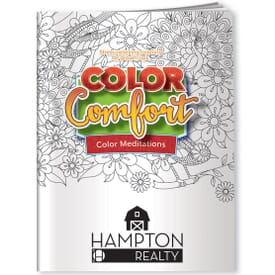 Color Meditations Adult Coloring Book - Birds