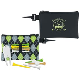 Pattern Golf Pouch Tee Kit-Value Pack