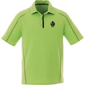 Heathered Short Sleeve Polo - Men's
