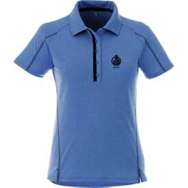 Heathered Short Sleeve Polo - Ladies'