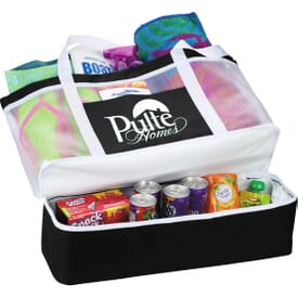 Outdoor Mesh Cooler Tote