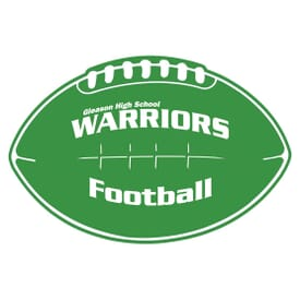 Rally Car Magnet- Football