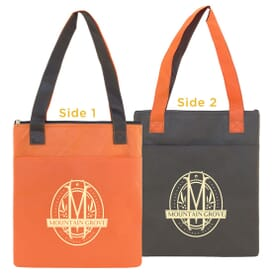 Slim Insulated 2-Tone Tote