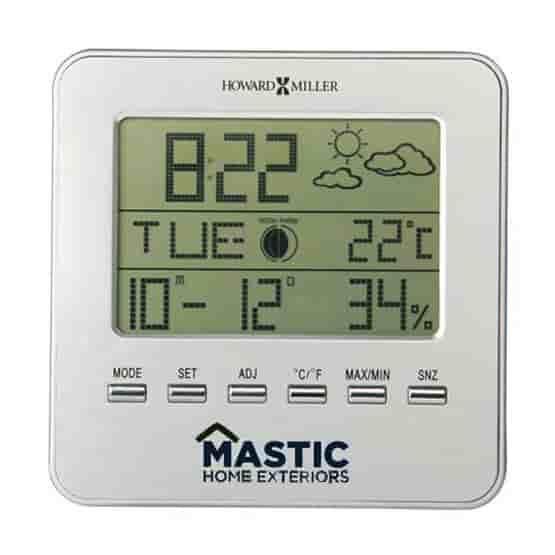 Howard Miller Weather Time Clock
