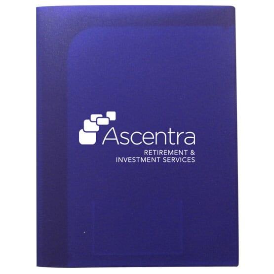 Presentation Folder With Six Pockets