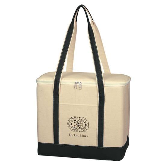 Cotton Canvas Kooler Bag - Large