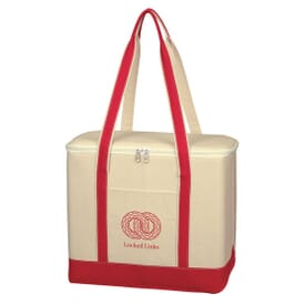 Heavyweight Cotton Tote Cooler - Large
