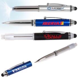 Pen Light With Stylus
