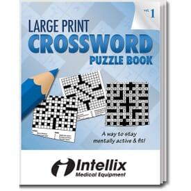 Large Print Crossword Puzzle Book- Volume 1
