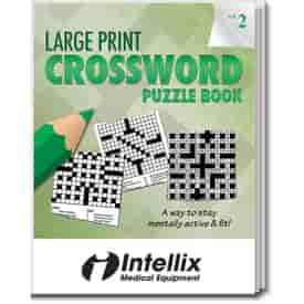Large Print Crossword Puzzle Book- Volume 2
