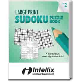 Large Print Sudoku Puzzle Book- Volume 2