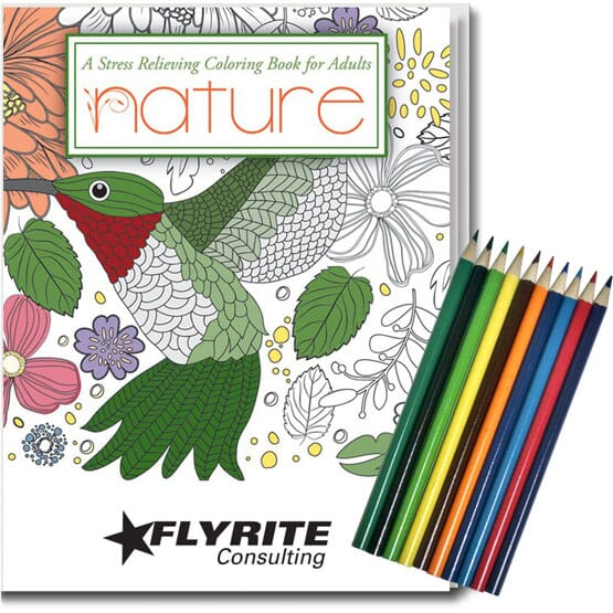 Adult Coloring Relax Pack- Nature