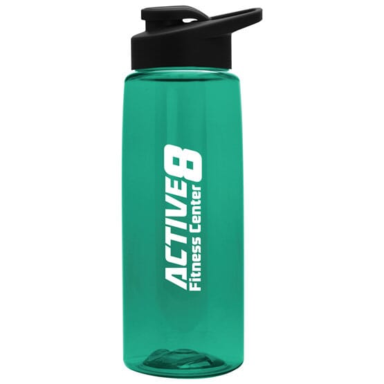 26 Oz Tritan(TM) Flair Bottle With Drink-Thru Lid 119585