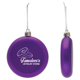 Classic Flat Round Ornament