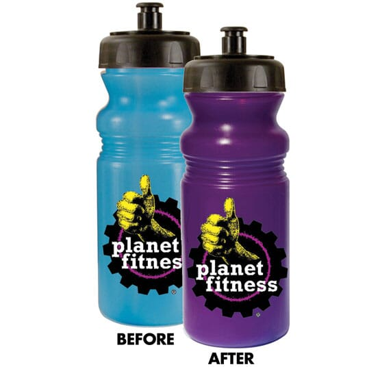 Color-Changing Water Bottle