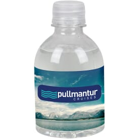 Water Bottle Full Color Label - 8 Oz.