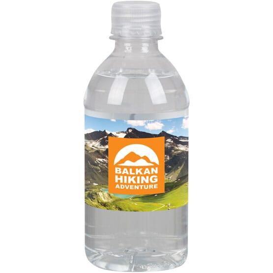 Water Bottle Full Color Label - 12 Oz.