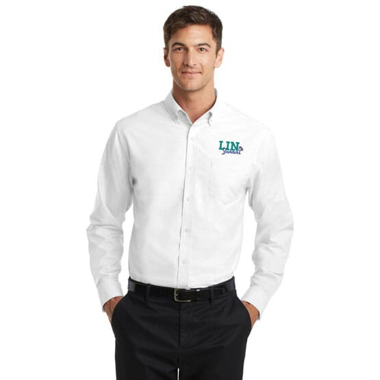 Port Authority® Superpro™ Oxford Shirt- Men's