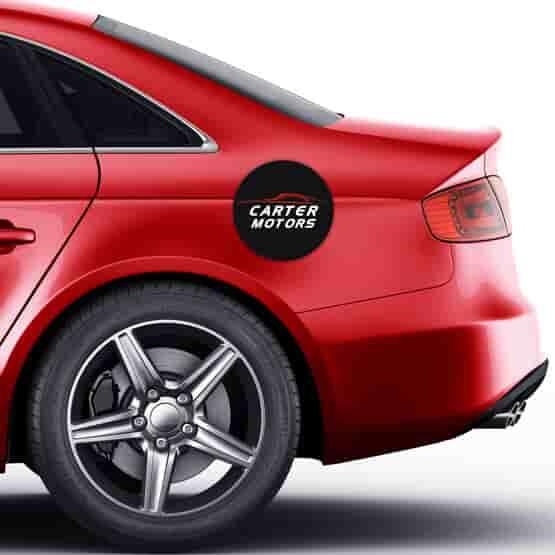 Car Fuel Door Cover