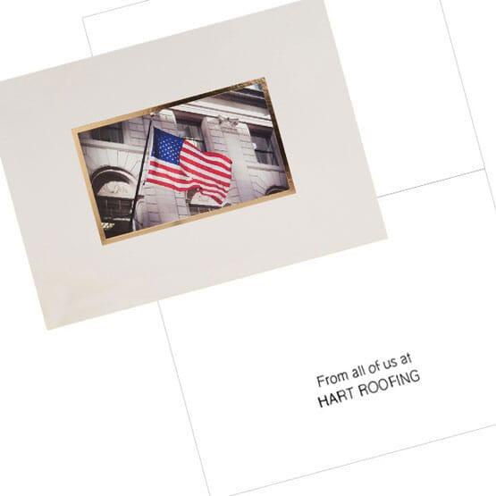 Patriotic Note Card