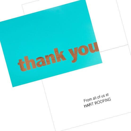 Copper Appreciation Card