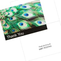 Custom Printed Greeting Cards, Thank You Notes & Logo Stationery
