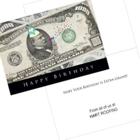 A Thousand Birthday Card