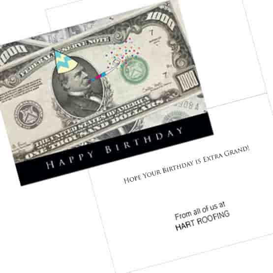 A Thousand Birthday Card