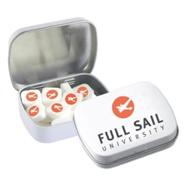 Freshen Up Square Mint Tin