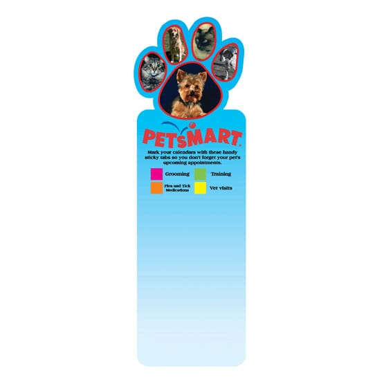 Dual Sided Bookmark- Shapes