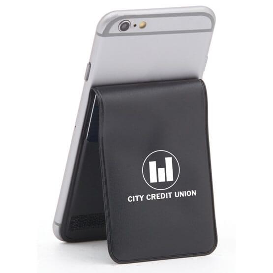 Cinch Phone Wallet - Vinyl Bifold Black 120022 01A