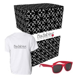 Tee And Shades Combo Set With Gift Box