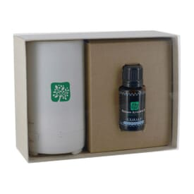 Electronic Diffuser With 15 ml Dropper Bottle Essential Oil And Gift Box
