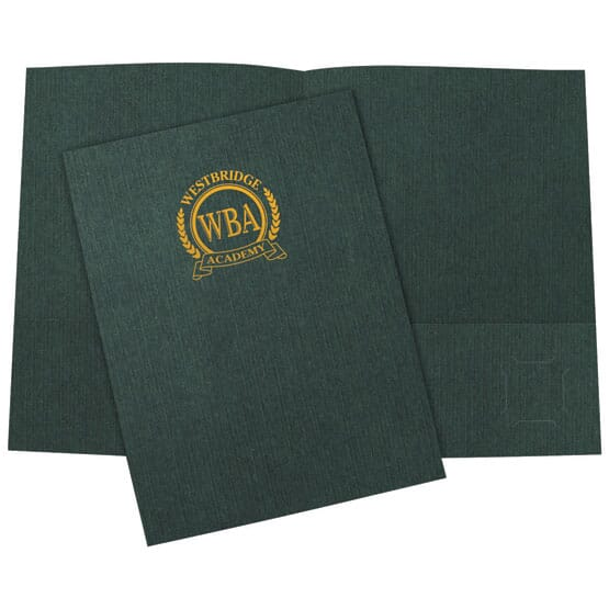 Designer Linen Folder 120163