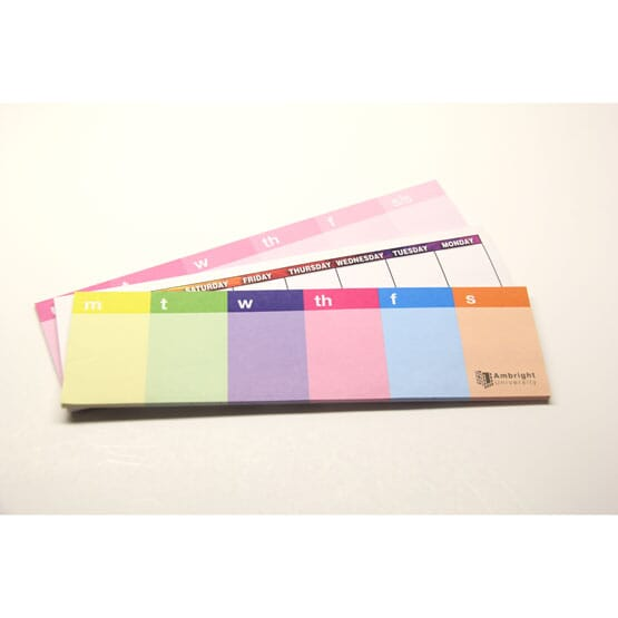 Post-it® Organizational Notes - 25 Sheets