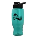 27 oz Poly-Squeeze Bottle W/ Drink Thru Lid